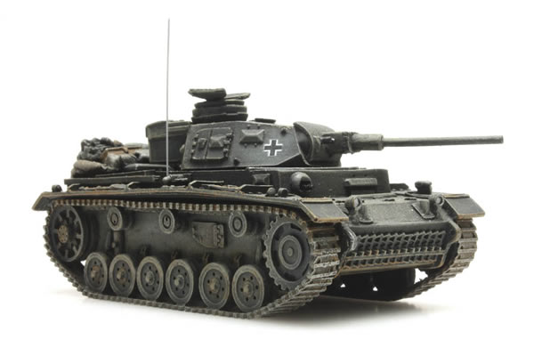 Artitec 387.315 - WWII Panzer III Version J gray