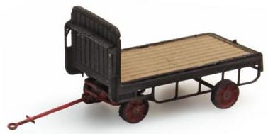 Artitec 387.32-BK - Trailer for station-platform truck (black)