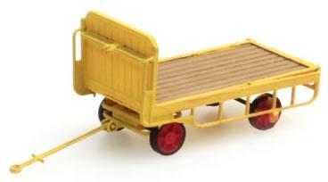 Artitec 387.32-YW - Trailer for station-platform truck (yellow)