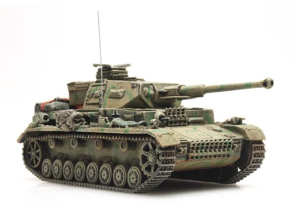 Artitec 387.320 - WWII Panzer IV Version F camouflage