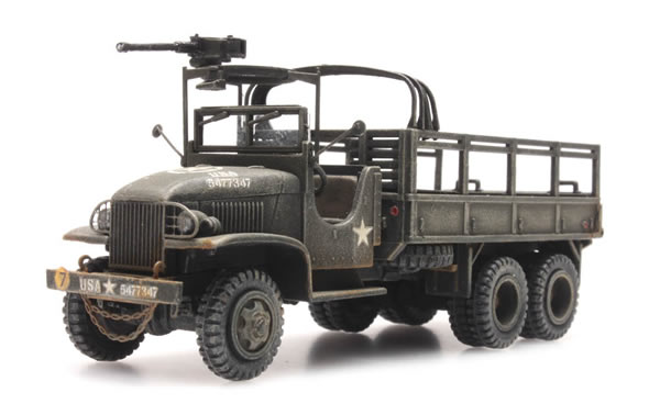 Artitec 387.345 - US Truck Type 353 with open cab and machine gun