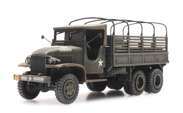 Artitec 387.346 - US Truck type 353 with closed cab, open cargo load