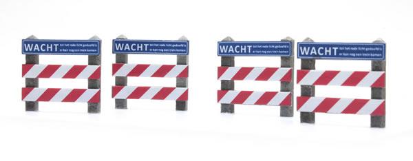 Artitec 387.353 - Dutch warning sign railroad crossing