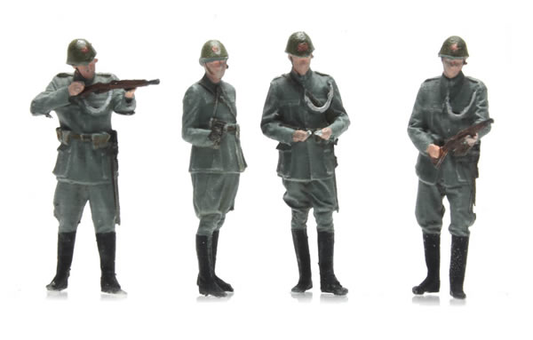 Artitec 387.355 - NL Police Figures from the 1940s 4 fig.