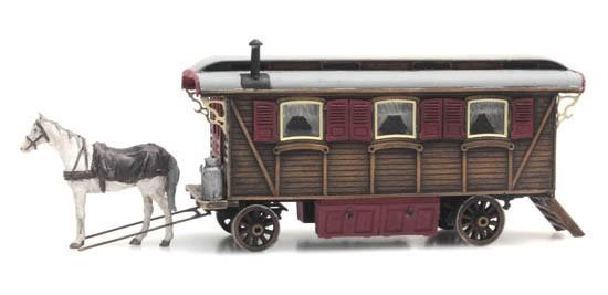 Artitec 387.368 - Living wagon (fairground or circus)