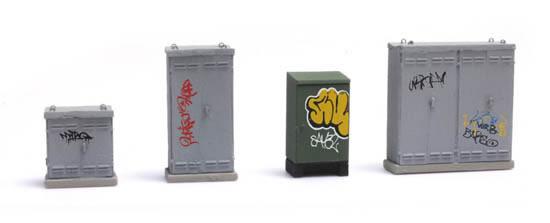 Artitec 387.376 - NL Switchboxes with Graffiti