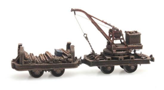 Artitec 387.393 - Narrow gauge wagon with crane