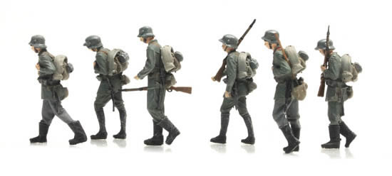 Artitec 387.404 - Marching German infantry 6 fig.