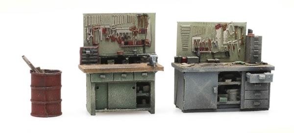 Artitec 387.433 - Set Workbenches