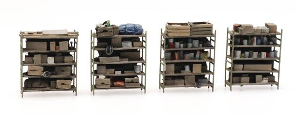 Artitec 387.434 - 4 storage shelves