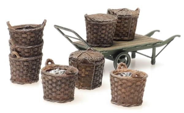 Artitec 387.449 - Fishing baskets with cart