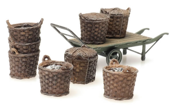 Artitec 387.449 - Fishing baskets with cart
