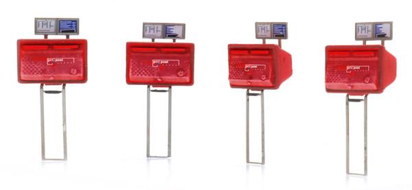 Artitec 387.476 - Letter boxes red (4x)