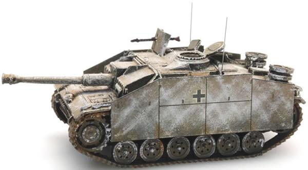 Artitec 387.48-WY - German StuG III Version G assault gun - 1943 winter