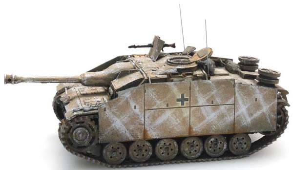 Artitec 387.49-WY - German StuG III Version G Saukopf - 1944 winter