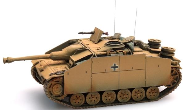 Artitec 387.49-YW - StuG III Version G  assault gun w/ Pigs Head gun mantlet (1943 / yellow)