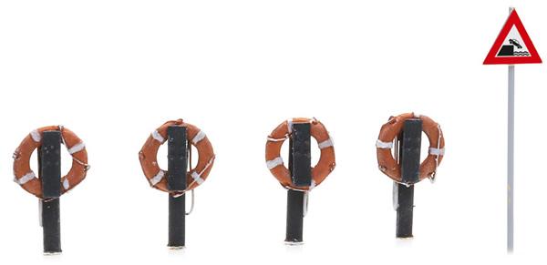 Artitec 387.494 - Lifebuoy on Pole