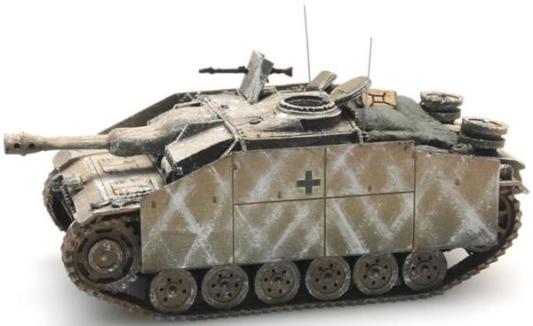 Artitec 387.50-WY - German Army StuG III G Howitzer, white
