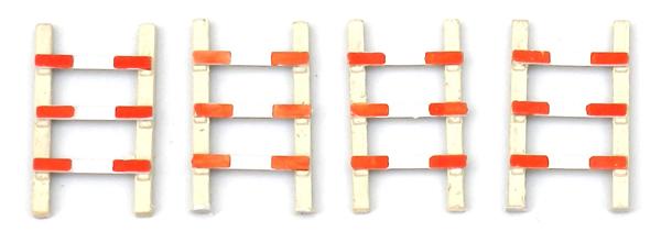 Artitec 387.56 - Fences for Grade Crossings (4 pieces)