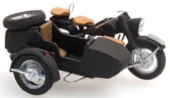 Artitec 387.68 - BMW Motorcycle R75 + Sidecar (civil Version)