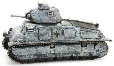 Artitec 387.69-WG - German Army captured Somua 1935 S, winter gray