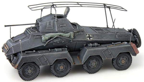 Artitec 387.72-GR - German Army Sdkfz 232 8-wheel, 20mm gun, gray