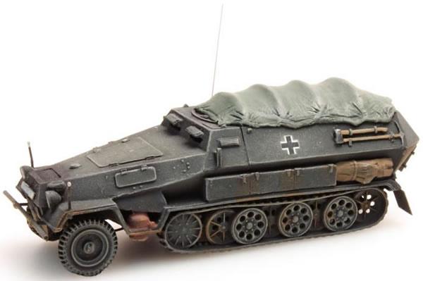 Artitec 387.73-PG - German Army Sd. Kfz 251/8 B w. cover, gray