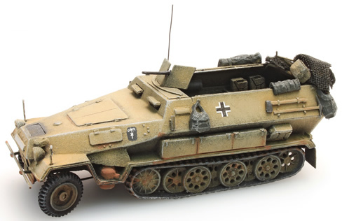 Artitec 387.73-YW - Sd.Kfz 251/1 version B half-track armoured personnel carrier (yellow)