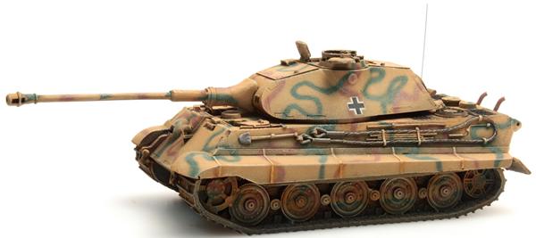 Artitec 387.74-CM - German Army Tiger II w. Porsche Turret, Camo