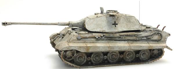 Artitec 387.74-WY - German Army Tiger II w. Porsche Turret, yellow winter