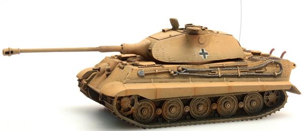 Artitec 387.75-YW - German Army Tiger II Porsche Zimmerit, yellow