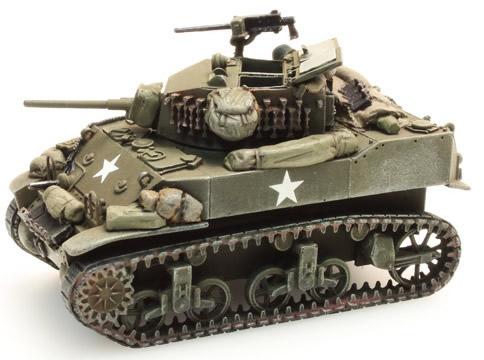 Artitec 387.79-S2 - US M5A1 Stuart Light Tank stowage 2