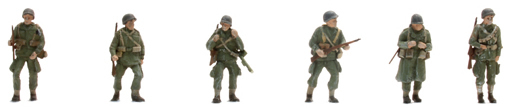 Artitec 387.89 - US Paratroopers (6 Fig )