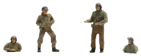 Artitec 387.92 - US Tank crew ( 4 Fig )