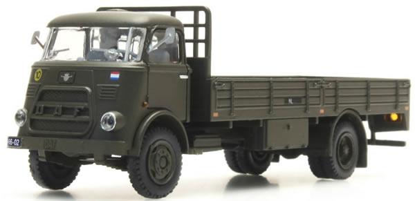 "Artitec 487.042.09 - DAF Flatbed Truck w/o Tarp, Kab. '64 ""Heer"""