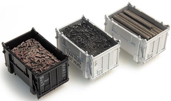 Artitec 487.801.02 - Cargo container: coal, beams, rubble