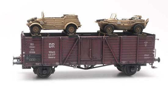 Artitec 487.801.66 - Cargo: Railway transport Schwimmwagen