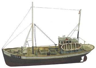 Artitec 50.107-V - Norwegean fishingboat FRAMTID I (full hull)
