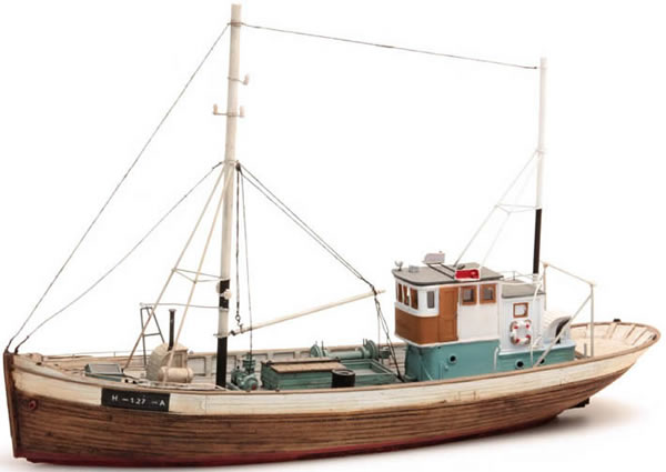 Artitec 50.107 - Norwegean fishingboat FRAMTID I (waterline)