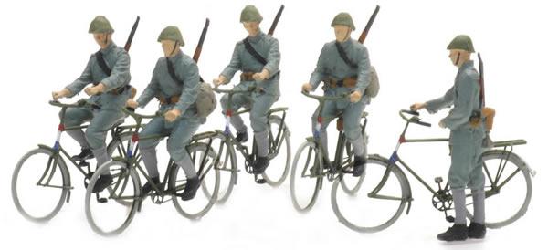 Artitec 5870006 - NL fietsende soldaten 1940