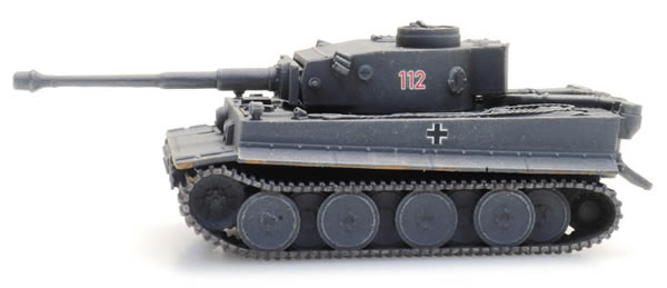 Artitec 6120010 - WM Tiger I grau Eisenbahn