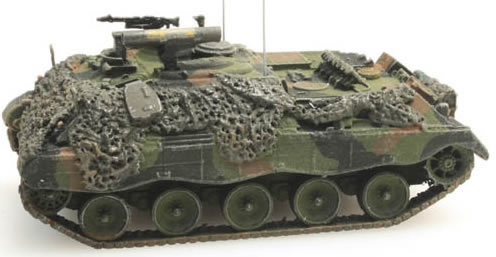 Artitec 6160008 - Jaguar 1  Combat Ready  Camouflage  Bundeswehr