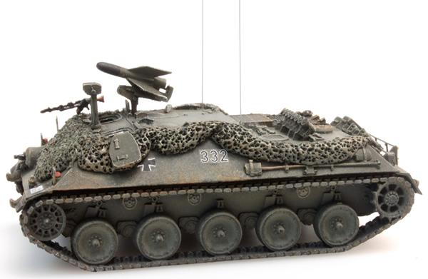 Artitec 6160023 - BRD Missile Tank 2 battle ready yellow-olive paint scheme  Bundeswehr