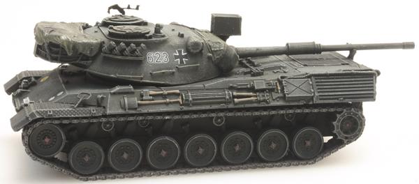 Artitec 6160042 - BRD Leopard 1 yellow-olive paint scheme  ready for rail transport Bundeswehr