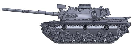 Artitec 6160053 - US M48 A2  Train Load US Army