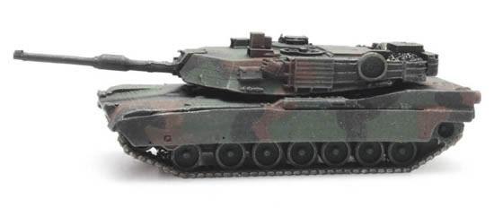 Artitec 6160076 - US M1A2 Abrams camouflage train load