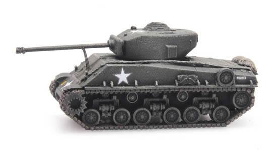 Artitec 6160077 - US Sherman M4A3 E8  train load