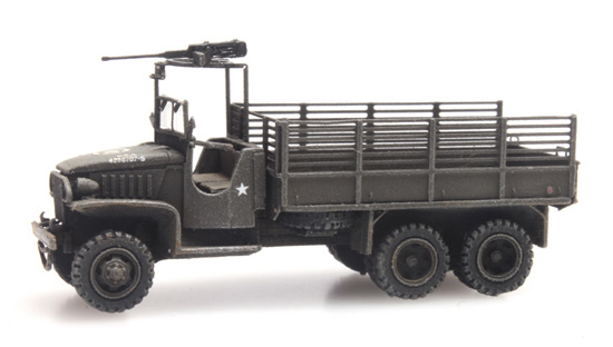 Artitec 6160079 - GMC 353 cargo with MG