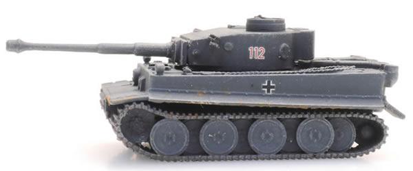 Artitec 6160093 - WM Tiger I grau Eisenbahn