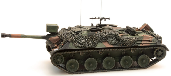 Artitec 6870004 - Tank Destroyer 90mm Combat Ready  Camouflage  Bundeswehr